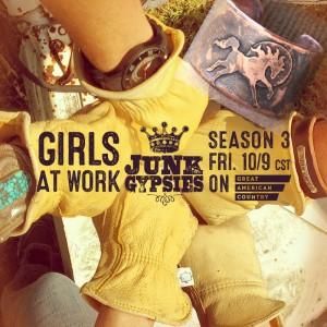 Junk Gypsies Season 3 wearin' our stuff!