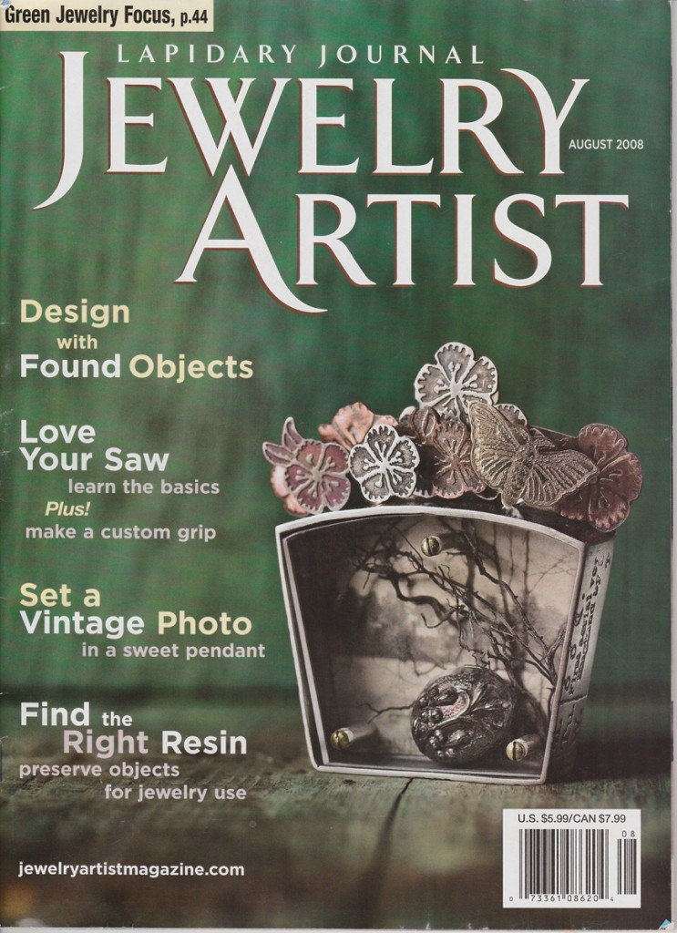 Ildanach Studios in Jewelry Artist Magazine