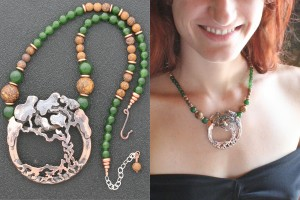 Photo 1 - Ildanach Studios Copyrighted Image 2013 - Limited Edition Statement Necklace - Aedendur IMG 5628 and IMG 5928