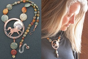Photo 13 - Ildanach Studios Copyrighted Image 2014 - Limited Edition Statement Necklace - Schaedoufax IMG 4650 and IMG 1215