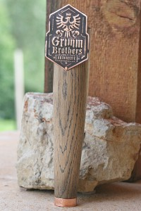 Photo 9 Ildanach Studios Copyrighted Image 2013 - Grimm Brothers Flat Tap Handle IMG_1696