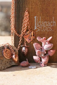 Ildanach Studios Copyrighted Image 2014 - Casting in Copper - IMG_7248